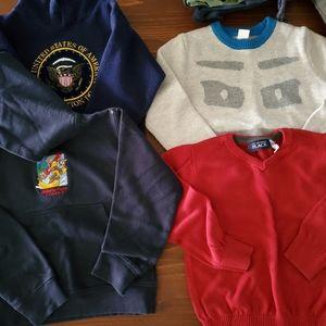 5T/6 boys sweaters & hoodies
